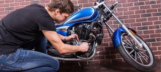 Equipement et entretien de la moto