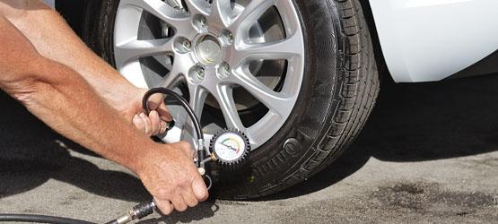 Contrôle des pneumatiques
